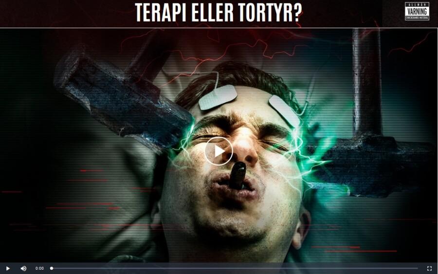 Terapi eller tortyr? En film av KMR om psykiatrins elchocker (ECT)