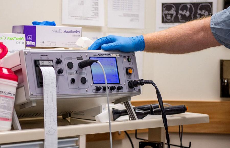 Psykiatrins apparat för elchocksbehandlingar (ECT)