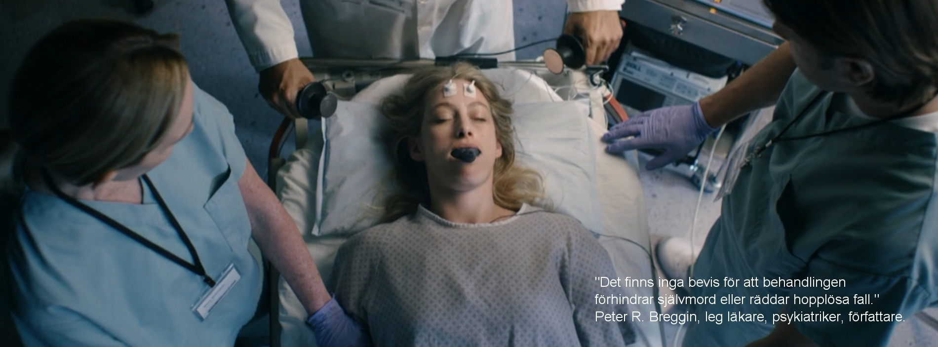 Människor skadas av psykiatrins elchocker ECT)